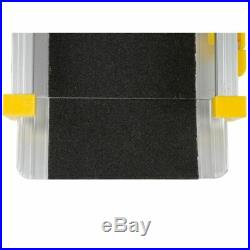 10' Telescoping Adjustable Aluminum Loading Wheelchair Ramps