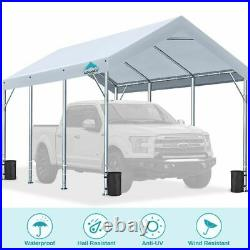 10'x20' Adjustable Carport Heavy Duty Car Shelter Storage Canopy Boat Cover Shed