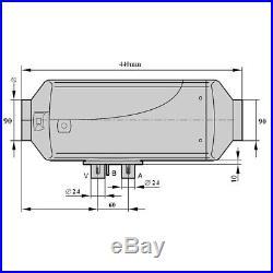 12V Air Diesel Heater PLANAR Adjustable 5KW for Trucks Motor-homes, Boats Bus