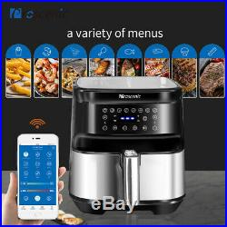 1700W Alexa Air Fryer Multicooker Countertop Oven Oil less 5.8qt LED Touchscreen