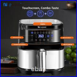 1700W Alexa Electric Hot Air Fryers Oven Oilless Cooker with LCD Digital Screen