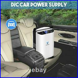 1-5L/min Adjustable Portable 02 Concentrator Air 02 Machine for Home /Travel Use