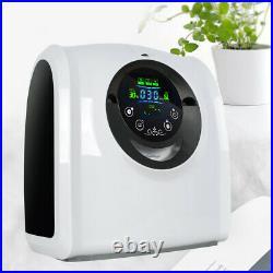 1-6L/min Adjustable Oxy-Bar-Generator O2-Concentraor Machine Humidifiers 110V