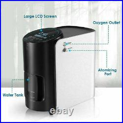 1-7L/min Adjustable Portable 02 Concentrator Air 02 Machine for Home /Travel Use