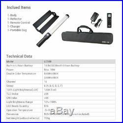 2018 New Godox LC500 3300K-5600K Adjustable Handle LED Light Stick w Battery