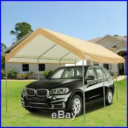 20'X10' Heavy Duty Carport Party Wedding Tent Canopy Car Shelter Adjustable US