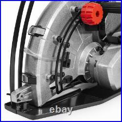 2600W 14 Portable Circular Concrete Cut Off Saw Cutter Wet Dry Masonry Brick