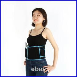 2IN1 Red LED Light Therapy Pain Relief Back Spine Waist Wrap Belt Body Slimming