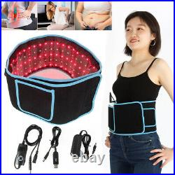 2In1 Red LED Light Therapy Waist Wrap Belt Pain Relief Laser Slimming Body Care