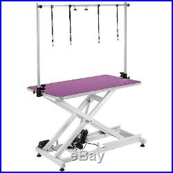 46X 26 Electric Pet Dog Grooming Table Lifting 440Lbs Large Bath Stable Safe