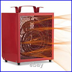 4800W Portable Construction Heater with Adjustable Thermostat Indoor Heater
