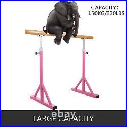 4Ft Ballet Barre Single Bar Freestanding Adjustable Dance Leg Stretch Training