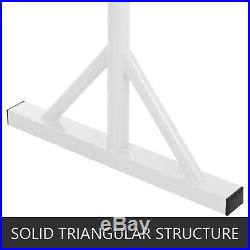 4.9ft Portable Double Freestanding Ballet Barre Stretch Dance Bar Adjustable