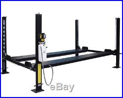 4-Post Heavy Duty Portable Storage Car Lift Auto Hoist 110V