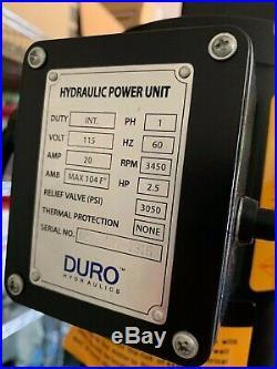4-Post Heavy Duty Portable Storage Car Lift Auto Hoist 110V (see description)