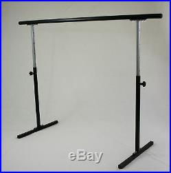5.5ft Ballet Barre Stand Adjustable 31-49, 300 lb Wt Capcity, Pilate Gymnastics
