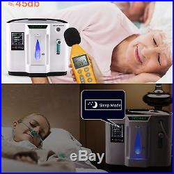 6L/Min Adjustable Oxygen Concentrator Air PurifIer Generator Machine 110V / 220V