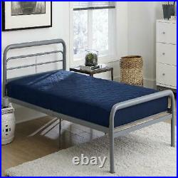 6 Inch Quilted Mattress Twin Size Memory Foam Home Bedroom Bed Sleeping Navy