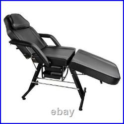 70 Salon SPA Massage Bed Tattoo Chair Facial Table Beauty Basket Adjustable US