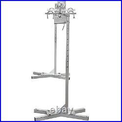 90lb 45W Electric BBQ Roaster Rotisserie System Tripod Motor Adjustable Height