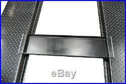 APlusLift HW-8SXLT 8000LB 4-Post Heavy Duty Portable Storage Car Lift Auto Hoist