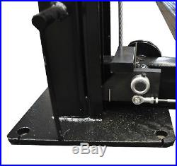 APlusLift HW-8S 8000 LB 4-Post Heavy Duty Portable Storage Car Lift Auto Hoist
