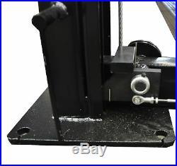APlusLift HW-8S Four Post Portable Storage Auto Hoist Car Lift 8000 LB Capacity