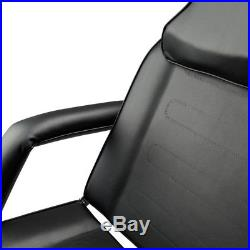 Adjustable Massage Bed Chair Beauty Equipment Spa Tattoo with Hydraulic Stool US