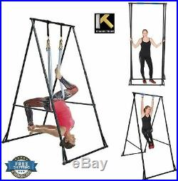 Aerial Yoga Stand Swing Frame Foldable Portable Indoor Outdoor Adjust Durable