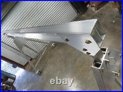 Aluminum Portable Adjustable Gantry Crane 2TON 4000lbs 4k