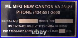 Aluminum Portable Adjustable Gantry Crane 3TON 12x12FREE SHIPPING, READY TO SHIP