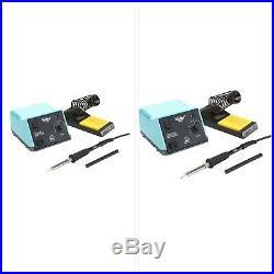 Analog Soldering Station Portable Electronic Repair Adjustable Iron Work Station