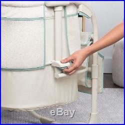 Baby Portable Bedside Bassinet Cradle Crib Infant Adjustable Nursery Furniture