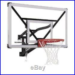 Basketball Hoop Adjustable Wall-Mounted Silverback SBX 54 Outdoor Goal Portable