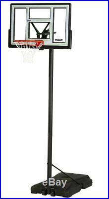Basketball Hoop Portable Stand Adjustable Height Shatterproof Backboard New
