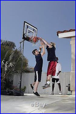 Basketball Hoop Pro Mini Adjustable Backboard Rim System Portable Indoor Outdoor