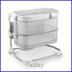 Bedside Bassinet Furniture Baby Dream Grow Adjustable Cradle Nursery Baby Child