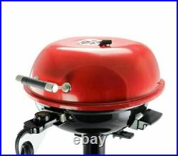 Better Chef 15 1600W Electric Indoor Outdoor Deck Backyard Red Barbecue Grill