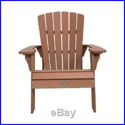 Brand New Lifetime Outdoor Adirondack Chair 60064 Simulated Wood Patio Furniture