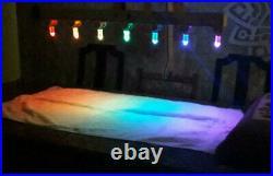 CRYSTAL LIGHT BED CHROMOTHERAPY SPA YOGA Reiki 7 chakras Chacrys QUARTZ vogel om