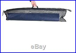 Camp Time Roll-a-Cot, Blue Mesh, USA Made, Compact, Portable, Roll up