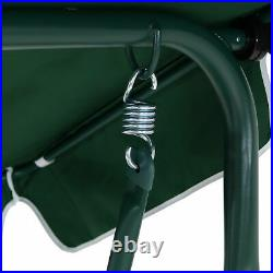 Canopy Swing Patio Chair Lounge 3-Person Seat Hammock Porch Steel Bench USA