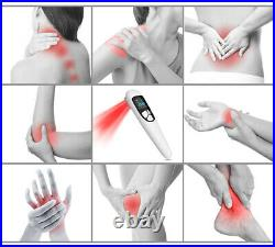 Cold laser therapy device low level light LLLT machine beats TENS therapy