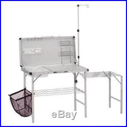 Coleman Pack Away Deluxe Outdoor Kitchen Camp Portable Table Folding Stand