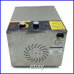 Commercial Food Dehydrator 6 Tray Stainless Steel 35L Fruit Meat Jerky Dryer