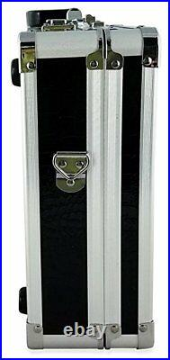 Common Wealth Barber Stylist Lock Attache Carrying Portable Travel Case Organize