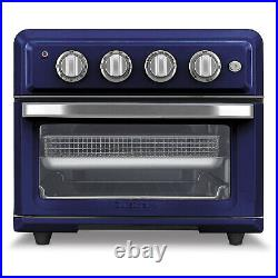 Cuisinart TOA-60 Convection Toaster Oven Air Fryer with Light, Navy Blue