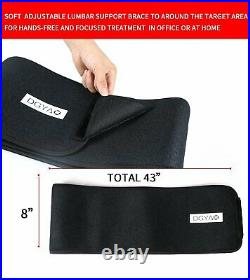 DGYAO Red Light Therapy Infrared LED Lamp Wrap Pad Back Waist Pain Relief Device