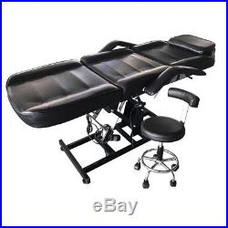 Electric Beauty Bed Adjustable Pro FacialwithTattoo Massage Table Salon Chair Spa