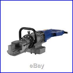 Electric Hydraulic Rebar Bender Bending Pipe Portable Adjustable Steel RB165A